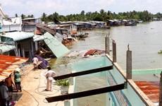 Mekong Delta province works to prevent coastal erosion