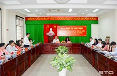 Vice President visits Soc Trang province