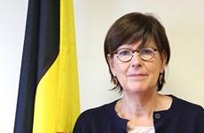 Outgoing Belgian ambassador receives friendship insignia