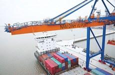 Nam Dinh Vu deep-water port records high productivity