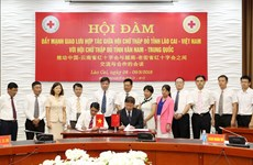 Vietnamese, Chinese provinces cooperate in humanitarian activities