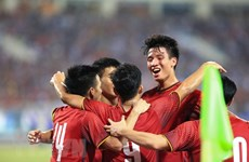 Vietnam wins U23 International Football Championship
