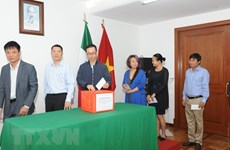 Vietnamese in Mexico raises funds for Lao victims in dam collapse