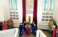 Hospital inaugurates Marie Curie statue