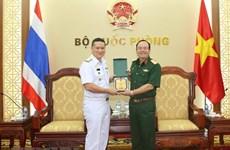 Vietnamese, Thai navies enhance hydrographic cooperation