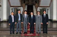HCM City's leader welcomes Japanese state minister