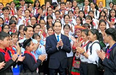 President stresses need to care for children