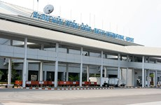 Lao airport can receive 2.3 million foreign tourists annually