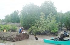 First soil bank in Mekong Delta