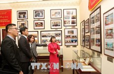 Fatherland Front leader receives Singaporean official
