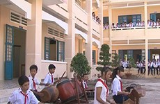 Soc Trang province upgrades schools in Khmer communities