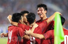Pakistani media lauds Vietnam's Olympic football team