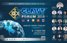 Thai commerce ministry to host CLMVT Forum this month
