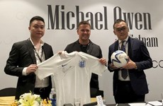 Michael Owen brings new solo fashion brand to Vietnam