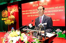 President urges all people to join security protection movement