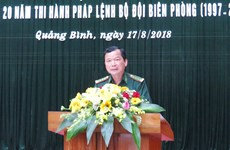 Quang Binh works hard to protect border security