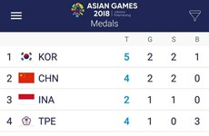 Vietnam wins second medal at ASIAD 2018