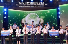 """Vietnamese Seeds Fund"" scholarships presented to students"