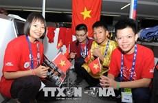 Vietnamese students shine at int'l robotics competition
