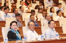 Top legislator attends talk on late President Ton Duc Thang