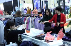 Garment companies are selling better abroad