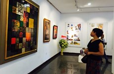 Painting exhibition in Hanoi marks National Day