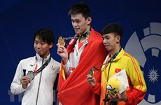 Vietnam drops to 16th place on ASIAD second competing day
