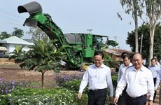 PM visits high-tech agricultural models in Tay Ninh