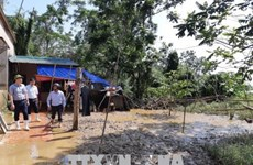 Thanh Hoa supports flood-hit residents after storm