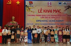 Vietnam – Japan youth exchange underway in Binh Phuoc