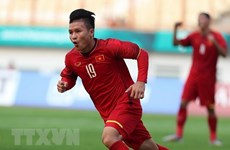 ASIAD 2018: Two Vietnam footballers listed in typical team of qualifying round