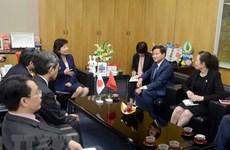 Government Inspectorate delegation visits Japan