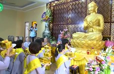 Buddhist Vu Lan Festival in full swing