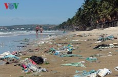Binh Thuan authorities order clean-up of Phan Thiet beach