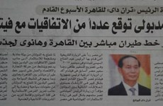 Egyptian newspaper spotlights cooperation prospect with Vietnam