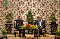 HCM City leader greets Laos-Vietnam Friendship Association delegation