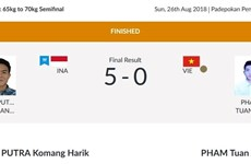 ASIAD 2018: Pencak silat earns bronze for Vietnam