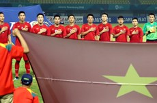 Asian media praises Vietnam Olympic football team