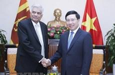 Deputy PM: Vietnam wants to develop ties with Sri Lanka