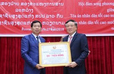 Vietnam-Laos court cooperation increasingly substantive: chief justices