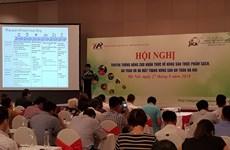 Hanoi launches website on safe farm produce