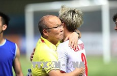 Coach Park determined to earn new victory for Vietnam