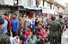 Thailand arrests over 1,100 illegal foreign workers