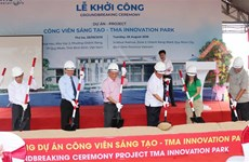 Construction of Vietnam's first innovation park starts in Binh Dinh