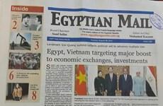Egyptian media highlight Vietnamese President's State visit
