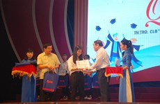 Scholarships help Quang Tri's students pursue higher education