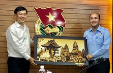 Vietnamese youth union leader wants more exchanges with Cambodia