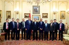 Vietnamese President meets FEDCOC leaders, concludes Egypt visit