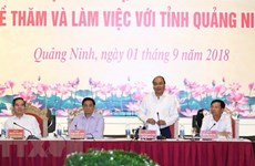 Quang Ninh should focus on urban development, says PM