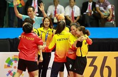 Women's sepak takraw team succeeds in changing medal colour